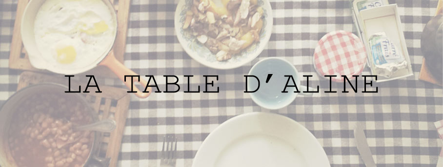 La Table d'Aline Logo